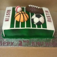 Sport Themed Birthday