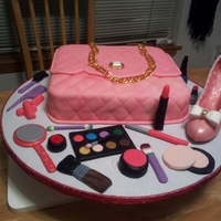 Birthday Cake For A 6 Yr. Old Diva