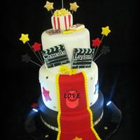 Hollywood Inspired Cake