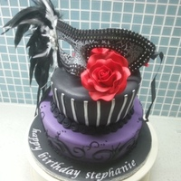 Gothic, Masquerade For my daughters birthday. got the brief for this about 3 days before so I cheated an purchased the mask. everything else is edible. Thanks...