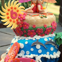 Beach Twins Inspired by margery's Beach Twin Baby Shower cake in Baby Shower album