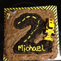 Construction Cake Oreo cookie road base. Original much cuter inspiration cake here www.mythreetinythings.blogspot.com. My great nephew loved this cake and...