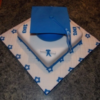 Graduation   A last minute cake I did for my nephew.....I dont Like to do things last minute they never turn out well.
