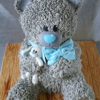 Teddy Bear Teddy bear for a christening.
