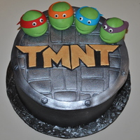 Teenage Mutant Ninja Turtles My oldest son's birthday cake. He's 23 now, but when he was little we used to watch this show every morning together. Got the...