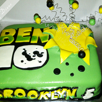 Ben 10 Ben 10 cake for my nephew. Used store bought fondant because of a lack of time and was very disappointed because of the elephant skin. I...