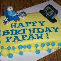 Happy Birthday Papaw For my Papaw's Birthday. He loves his dogs and Sci-Fi TV. TFL!