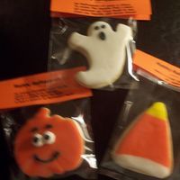 Halloween Cookies NFSC with RBC made for my children to give to friends