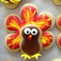 Gobble Gobble Number 8 Cookie Body On Wilton Flower Cookie All Ri Except Candy Eyes And Fondant Feet Tfl Gobble gobble! Number 8 cookie body on Wilton flower cookie. All RI except candy eyes and fondant feet. TFL!