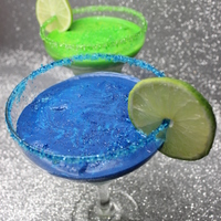 Margarita Cakes   margarita cakes baked into the glasses