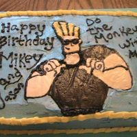 Johnny Bravo  Made this for a Cousin's son. Johnny is a fbct (but i had to re-do his head). The black ended up running overnight i was SO upset! any...