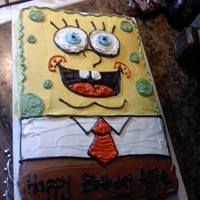 Spongebob   Spongebob Cake for my little one :)