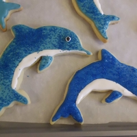 Party Favors   Dolphin cookies