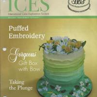 This Cake Was Made For Display At The 2013 Ices Convention As You Can See It Was Chosen For The Cover Of The Ices Newsletter The Sides W This cake was made for display at the 2013 ICES Convention. As you can see it was chosen for the cover of the ICES Newsletter. The sides...