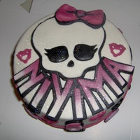Monster High Cake monster high cake