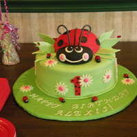 Ladybug  Ladybug for my great niece's 1st BD. Not sure where my niece got the picture from so if it came from a fellow cc'er, thanks for...