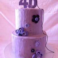 Purple 40Th
