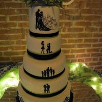 Love Story Wedding Cake *