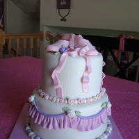 Pointe Shoe Birthday This was for a friend who's daughter just got her pointe shoes. Now that my daughter has pointe shoes and I understand them better I...