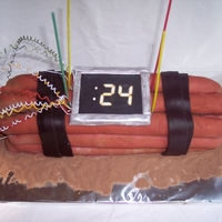 "24 Cake My brother loved ""24"" so he got a bomb for his bday. It even played the iconic 24 sound when you pushed a button on the 24."