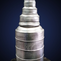 Stanley Cup Cake I did quite enjoy working on this very tall cake, it measured around 40 inches in length and it had to be transported in 2 pieces, made out...