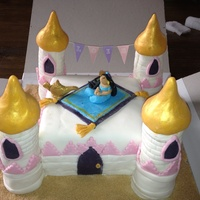 Jasmine Castle For My Niece 6Th Birthday Jasmine castle for my niece 6th birthday