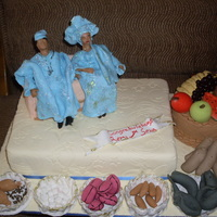 Traditional Engagement Cake