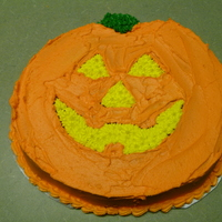 Pumpkin Cake Nothing major. Just a pumpkin cake