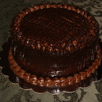 Triple Chocolate Lovers Cake triple chocolate with granche