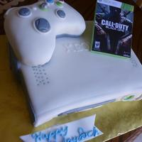 Xbox 360 Cake Made this for a 13 yr. old boy who loves playing Xbox Live