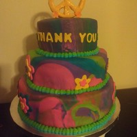Tye-Dye Teacher Appreciation Cake
