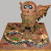 Owl Meets Snake