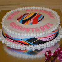 12Th Birthday All Colour Cake