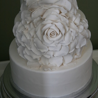 Rose A first draft of wedding cake I'll be making this summer.