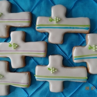First Communion Cookies pina colada cookies