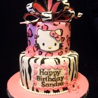 Pink Leopard & Zebra Hello Kitty Pink leopard & zebra Hello KittySuch a fun design to do!