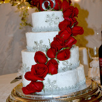 2013 January Wedding Cake 1st wedding cake for 2013.