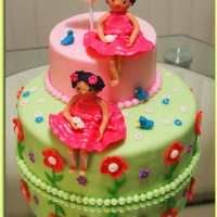 Birthday Cake For Twins Who Almost Look The Same birthday cake for twins who almost look the same :)