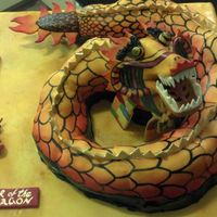 Chinese New Year Cake Year of the Dragon Cake