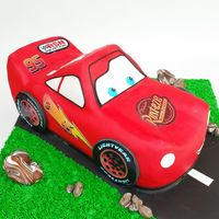 Cars Birthday Cake Cars Birthday cake