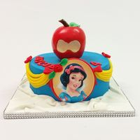 Go Ahead Take A Bite Snow White Birthday Cake Go ahead take a bite. Snow white Birthday cake