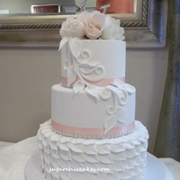 Leafing Out! I originally designed this cake for my Annual 2012 Local Bridal Expo!