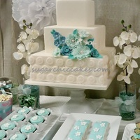 Minted Wonderland! One of the designs I created for my annual Bridal Expo.