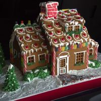 Gingerbread House I Love Doing These And Did This One For A Client Who Wanted To Keep It For Years I Didnt Want To Give It To Him I Lo Gingerbread house! I love doing these and did this one for a client who wanted to keep it for years. I didn't want to give it to him,...
