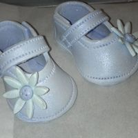 Baby Shower gumpaste booties