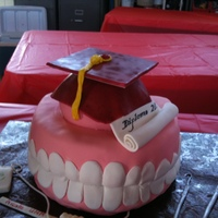Teeth Dental Hygenist Graduation.