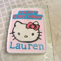 Hello Kitty Cake For My Daughters 6Th Birthday Hello Kitty Cake for my daughter's 6th birthday