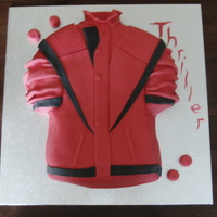 Michael Jackson Thriller Jacket for my Michael Jackson-daft mother-in-law!