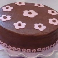 Bc With Fondant Flowers