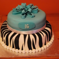 Sweet 16 Sweet 16th Birthday cake.